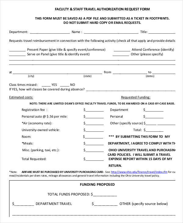faculty travel authorization request form1