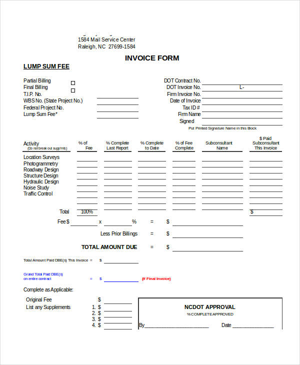 free blank invoice form2