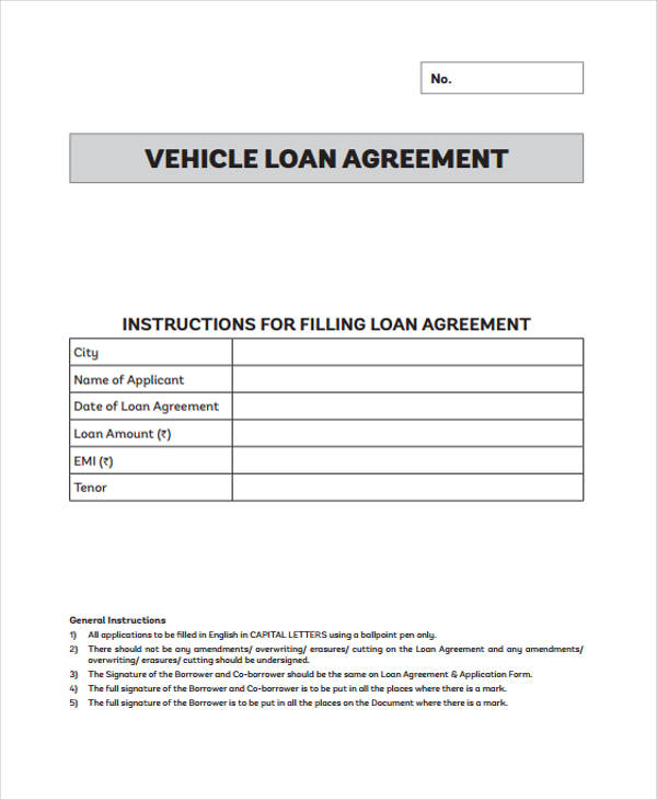 Free 56 Loan Agreement Form In Template Pdf Doc