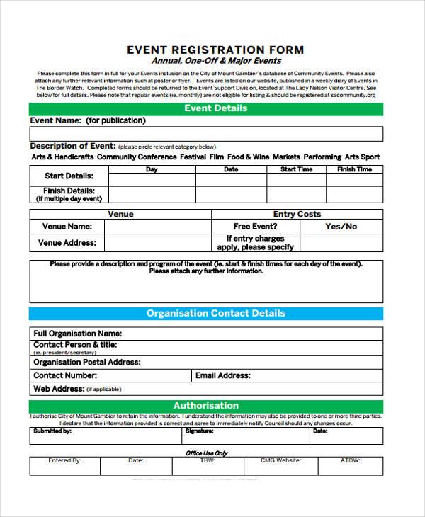 free event registration form4