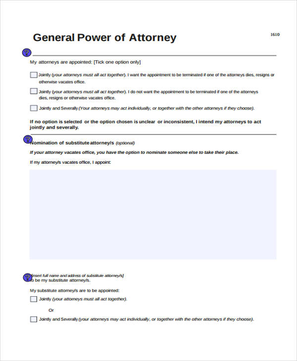 free general power of attorney form2