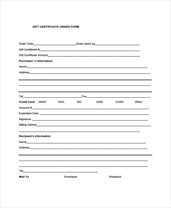 free 40  sample certificate forms in pdf