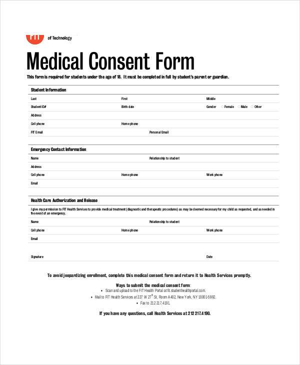 Free Medical Form. Free Printable Medical History Form Printable