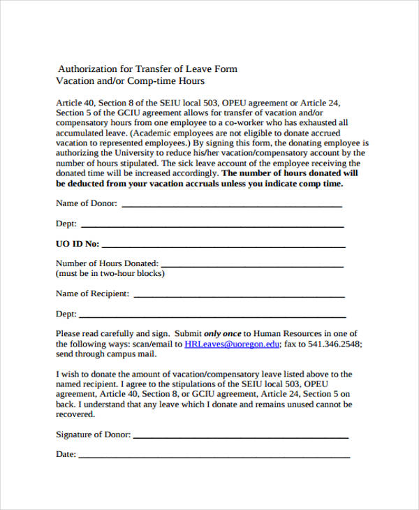 Sample Leave Form Simpleleaverequestformletterofabsence Leave