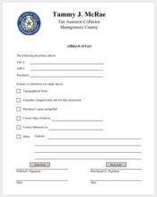 general affidavit of fact form