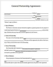 general partnership agreement form3