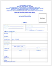general printable application form
