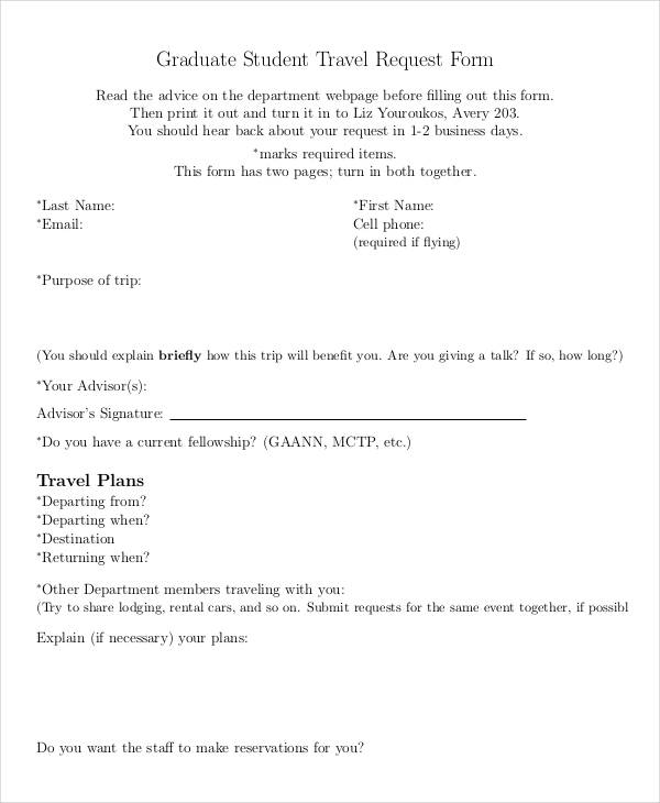 graduate student travel request form1