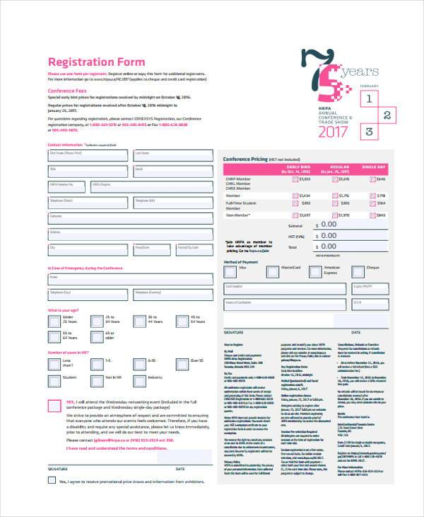 hr consultancy registration form