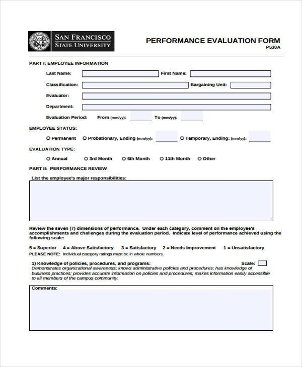 Hr Evaluation Form Hr Interview Evaluation Form Template Us