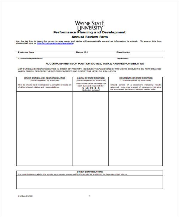 hr self appraisal form2