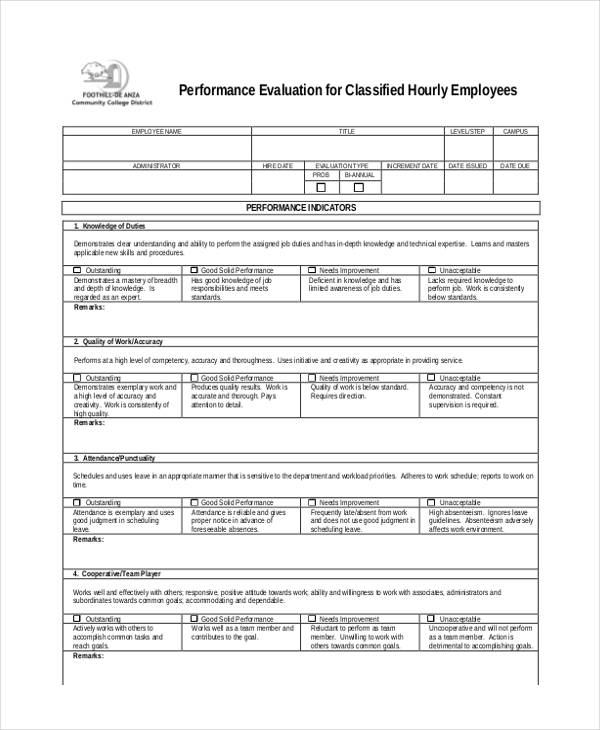 hourly employee performance evaluation form1