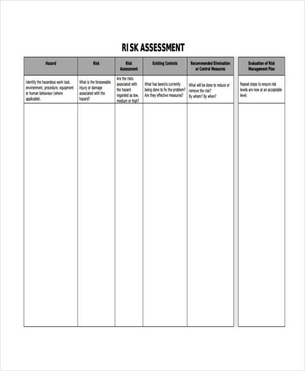 householder flood risk assessment form