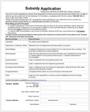 housing subsidy application form1