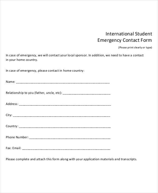 international student emergency contact form1