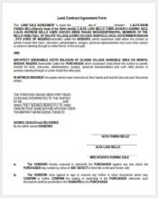 land contract agreement form2