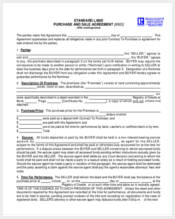 land purchase and sale agreement form