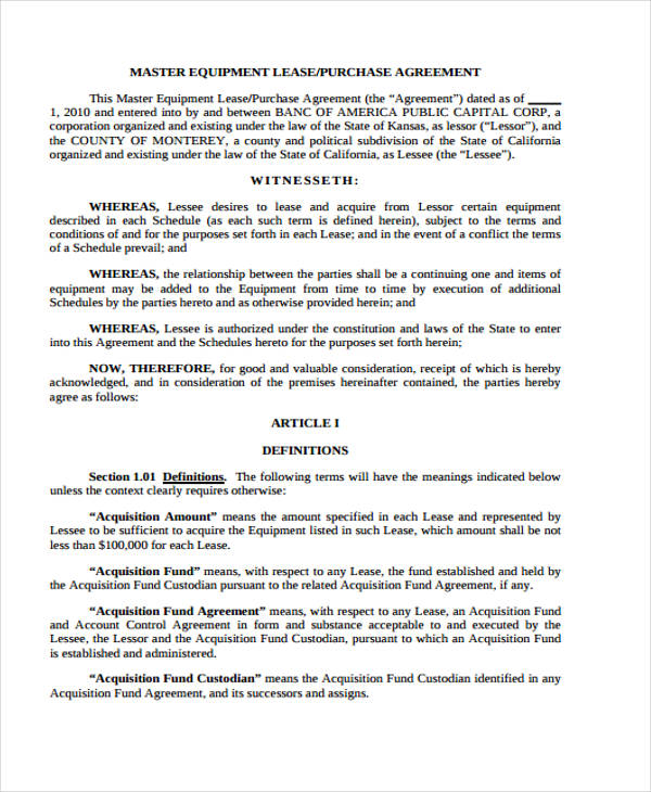 lease purchase equipment agreement form2