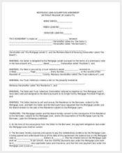 loan assumption agreement form1