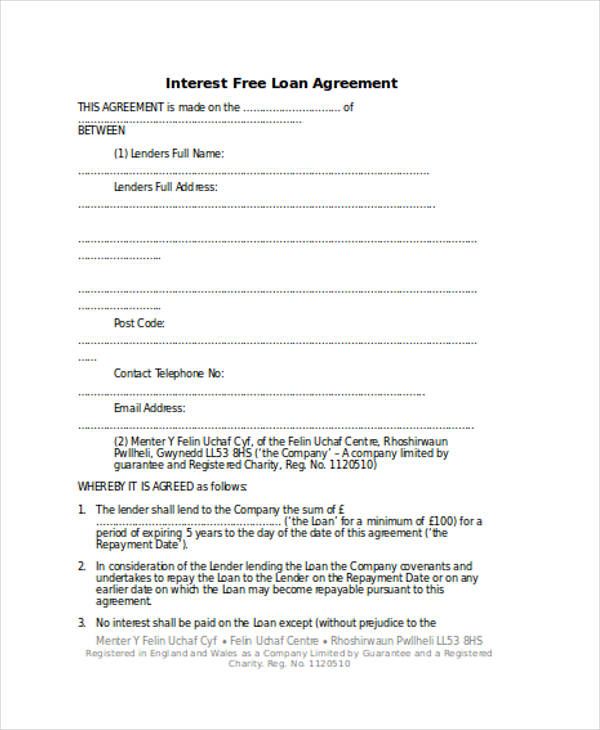 loan repayment agreement2
