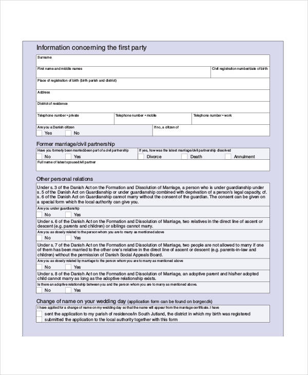 Notice Forms In Pdf
