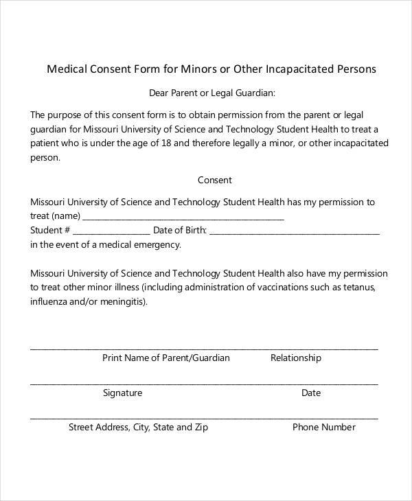 medical consent form for minor5