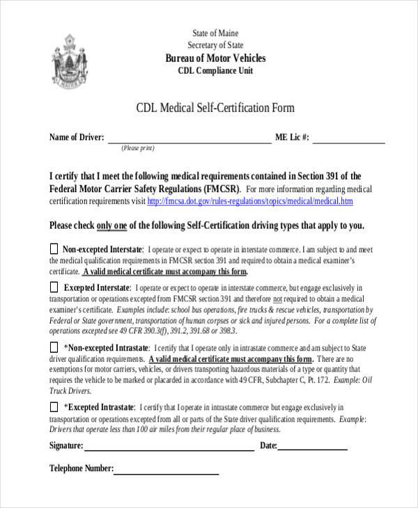 Cdl Medical Form. Physical Examination Form Cdl Physical ...