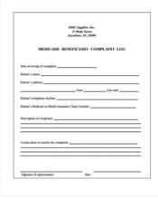 medicare beneficiary complaint form1