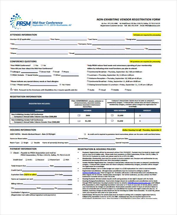 mid year conference vendor registration form1