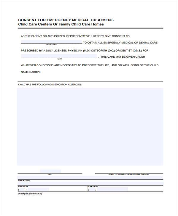 minor child medical consent form2