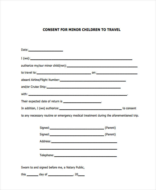 minor travel consent form1