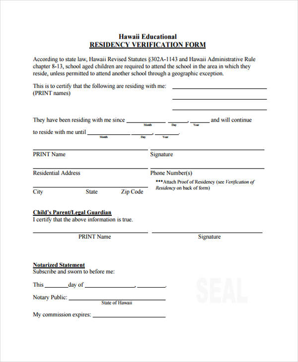 Printable Pregnancy Verification Forms Kitchen And Living Space