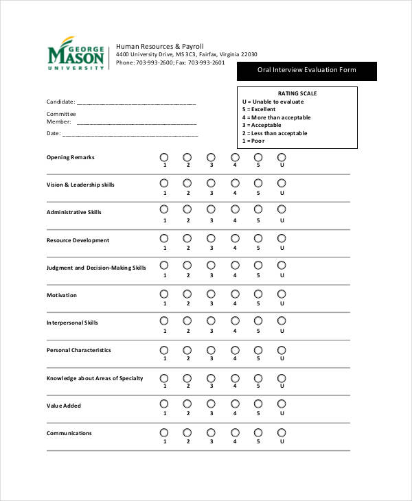 oral interview evaluation form1
