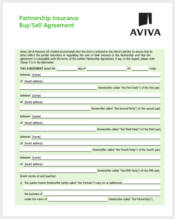 partnership buy sell agreement form