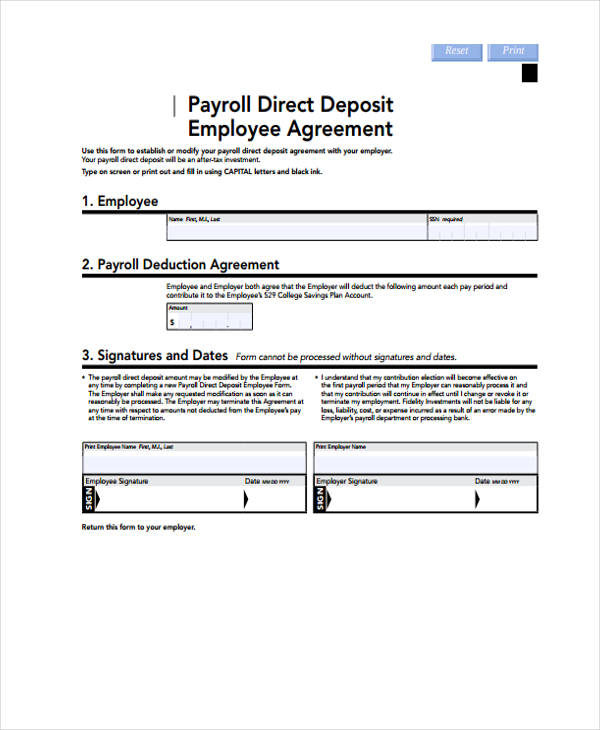 blank ach direct deposit form fill online printable