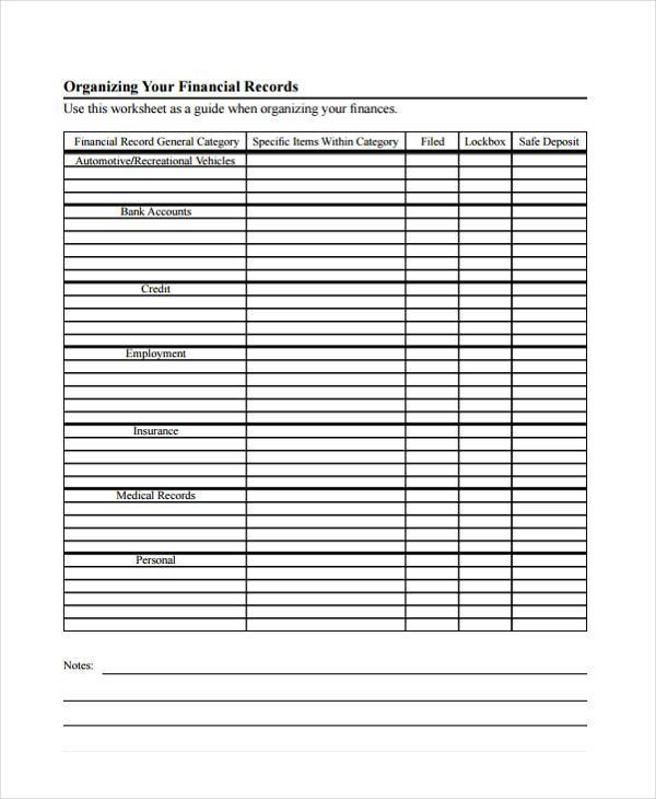 personal financial budget form1