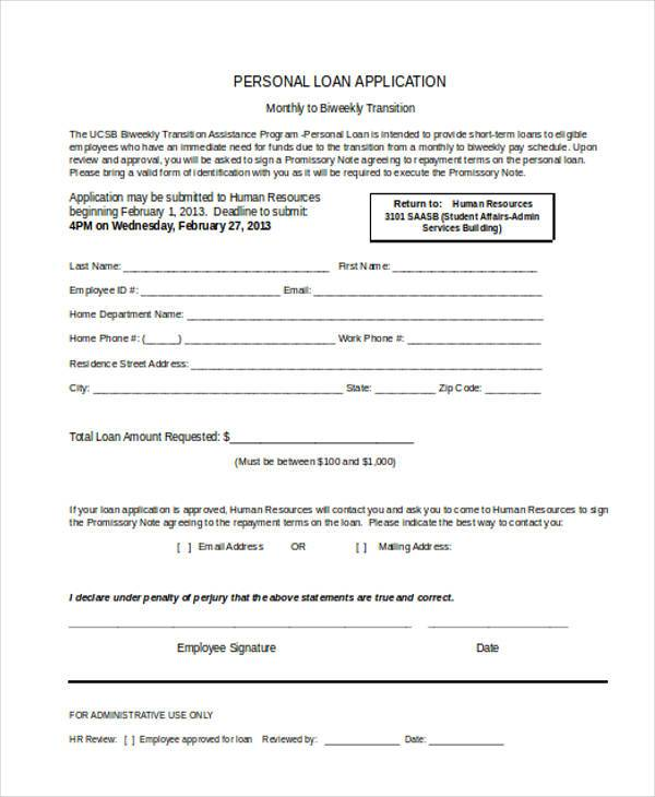 personal loan application form2