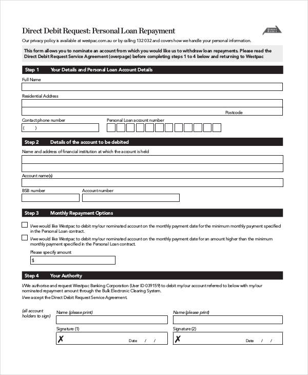 personal loan repayment agreement1