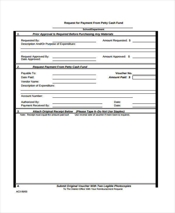 Receipt Form in PDF – Payment Received Form
