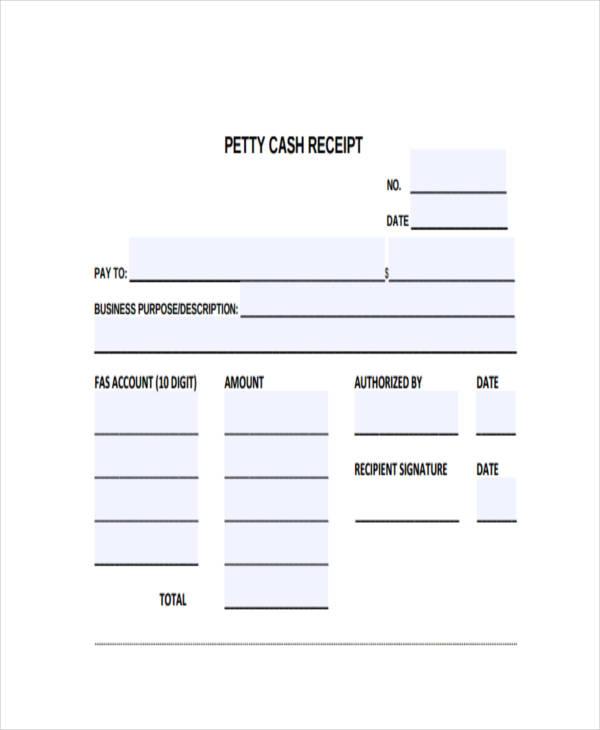 petty cash receipt form2