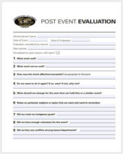 post event evaluation form6