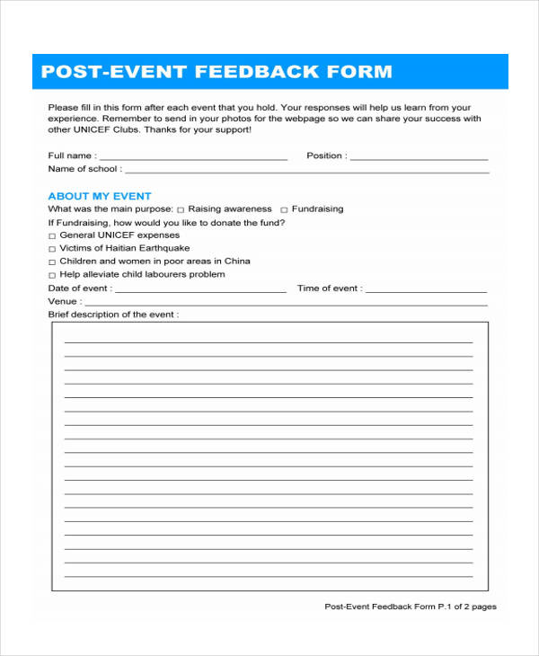 post event feedback form3