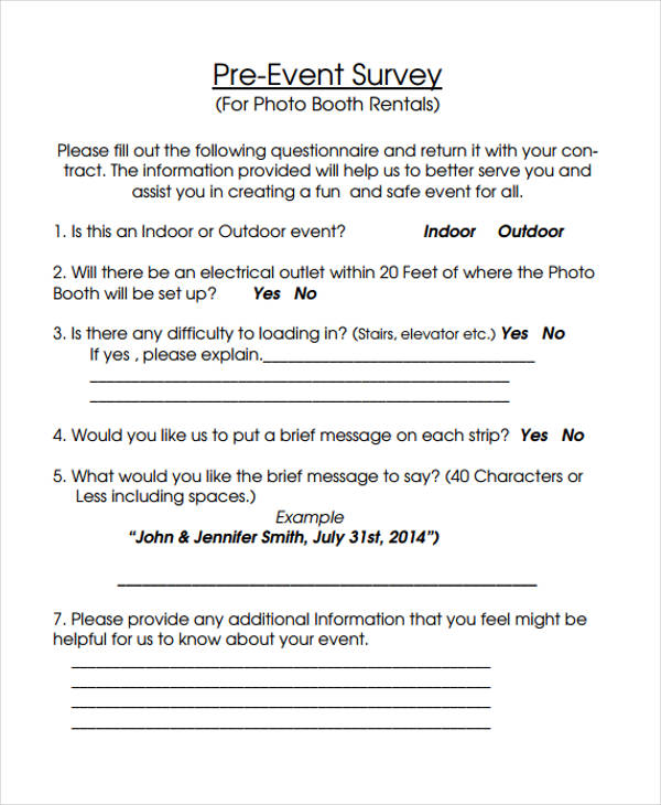 conference survey template - free event forms 32 free documents in word pdf