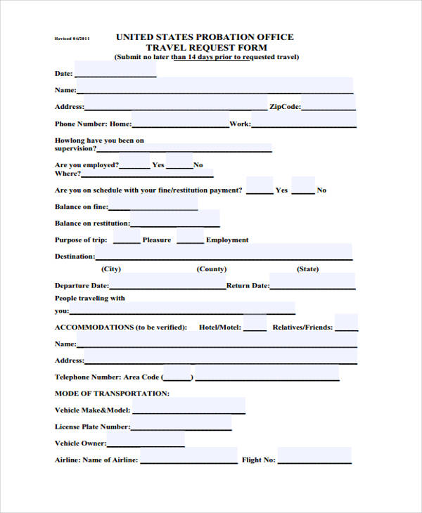 probation travel request form1