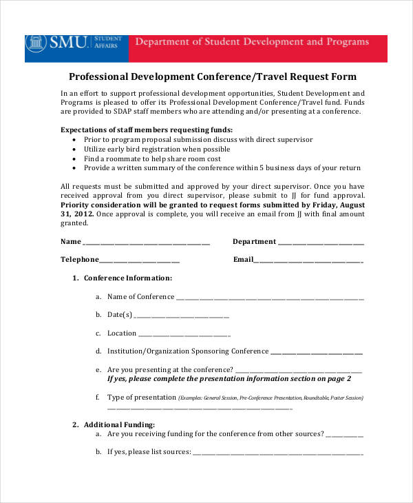 professional development travel request form1