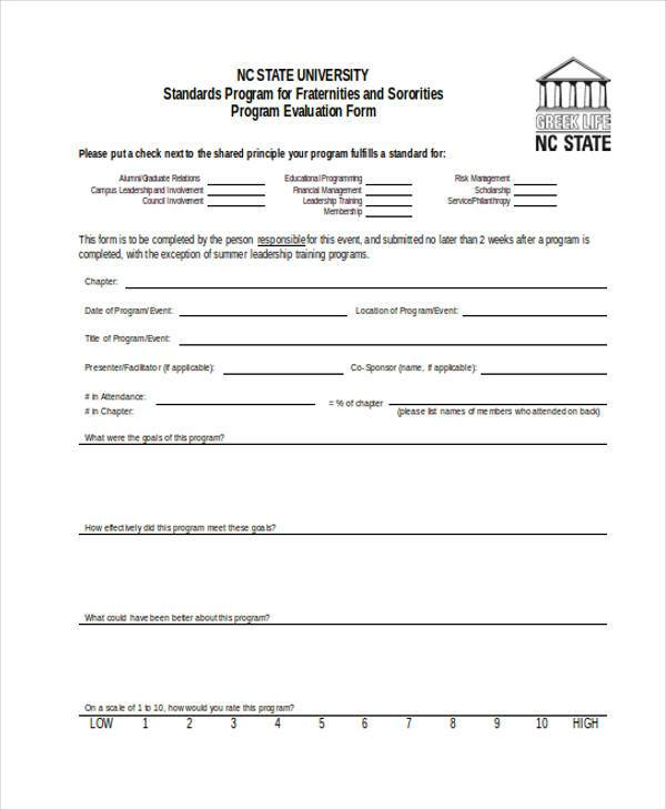 program evaluation form1