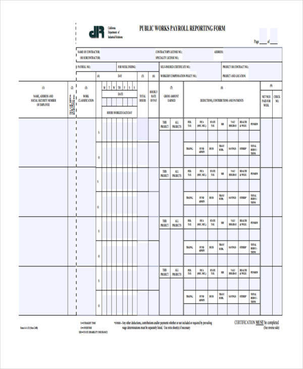 public works payroll reporting form1
