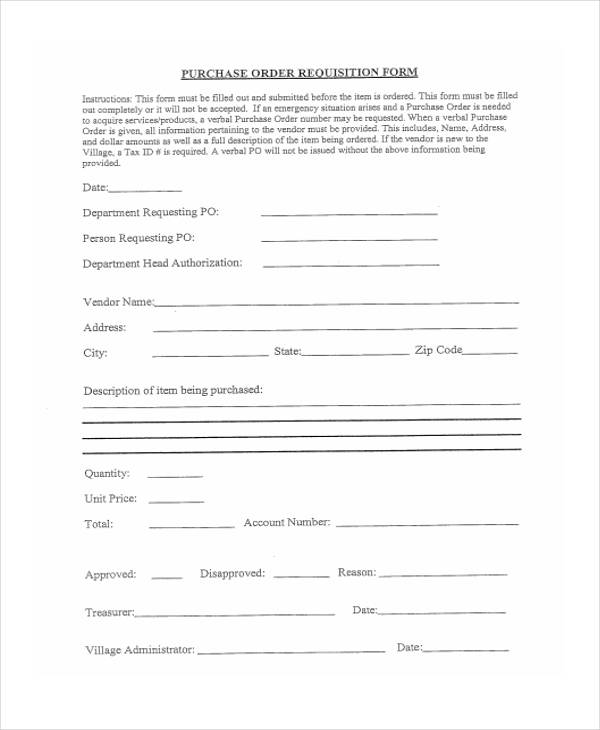 purchase order requisition form6