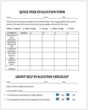 quick peer evaluation form1