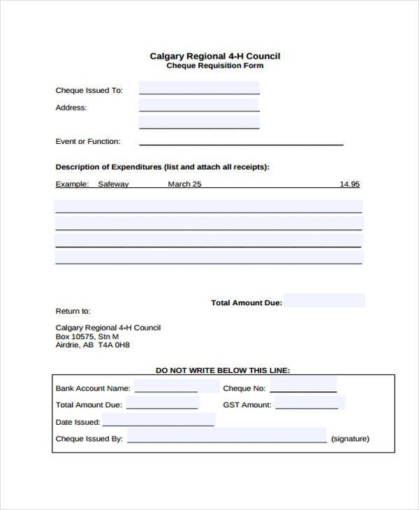 regional cheque requisition form1
